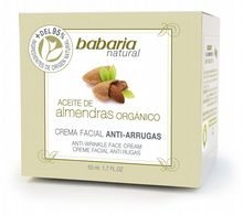 Babaria Almond Oil Anti Wrinkle Face Cream 50ml